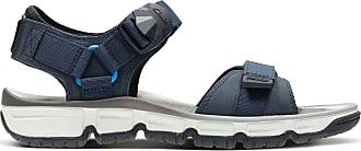 Clarks Mens Explore Part Open Toe Sandals, Blue (Navy Nubuck), 10.5 UK
