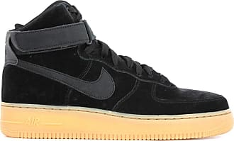 the latest fcffc 75d80 Nike Baskets montantes en suede Air Force 1 Noir Nike