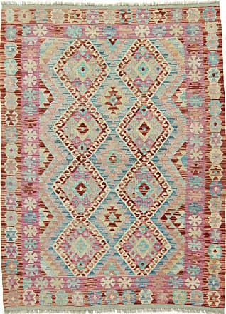 Nain Trading 176x131 Tappeto Orientale Kilim Afghan Heritage Grigio/Beige (Afghanistan, Lana, Tessuto a mano)