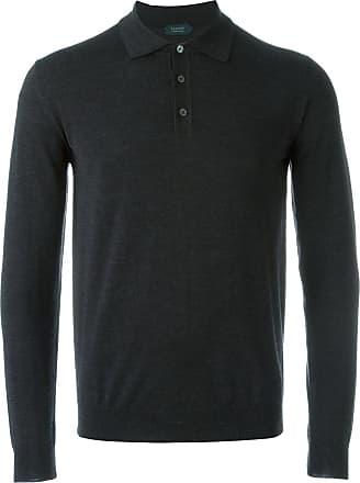 Zanone classic collar jumper - Grey