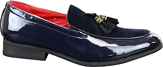 Fiorelli Mens Tassel Patent Shiny PU Suede Leather Driving Shoes Loafers Smart Casual
