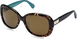 Kate Spade New York JUDYANN/P/S Sunglasses 0FZL Havana Turquoise 56-17-135