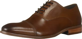 Kenneth Cole Reaction Mens Robson Lace Up Oxford, Cognac, 10.5 UK