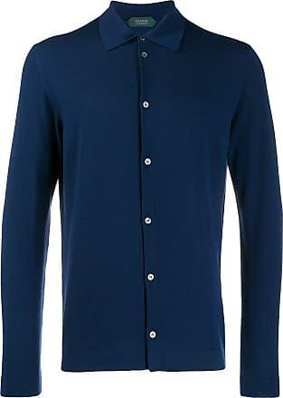 Zanone Camisa com botões - Azul