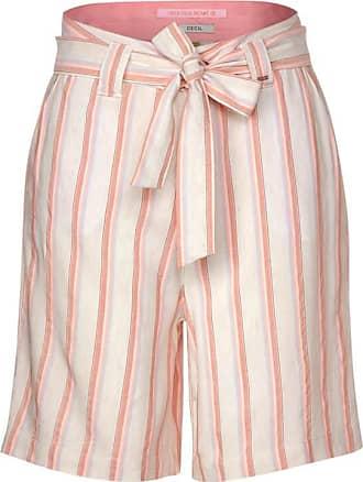 Cecil Lockere Shorts mit Streifen - light alabaster white