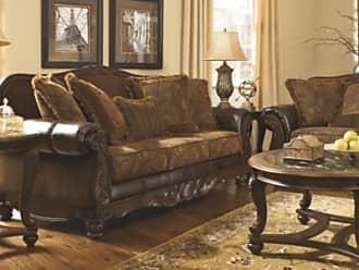 Ashley Furniture Fresco Sofa, Antique