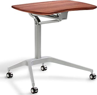 Unique Furniture Workpad Stand Up Height Adjustable Desk Cherry - 208-CH