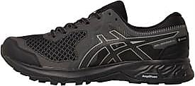Asics lace up trail running shoes with a GORE-TEX membrane to protect your feet from the elements. The Amplifoam midsole increases rebound while the Ortholi
