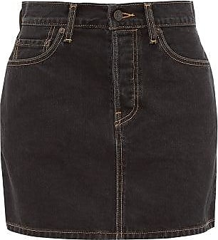 Wardrobe.NYC Wardrobe.nyc - X Levis Release 04 Denim Mini Skirt - Womens - Black