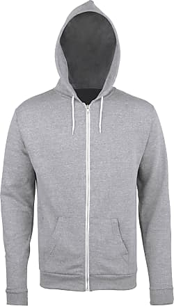 Awdis Heather Zoodie Lightweight Full Zip Hoodie Jumper Sports Pullover Jumper