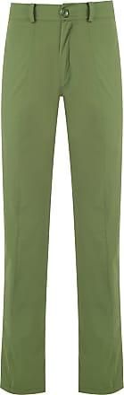 Amir Slama straight-fit trousers - Green