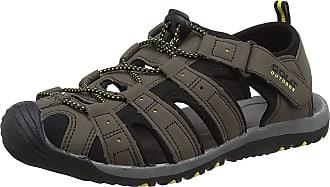 Gola Mens AMP648 Hiking Sandals, Brown (Dark Brown/Black/Sun TB), 14 UK 48 EU