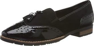 Jana Womens 8-8-24260-23 Loafers, Black (Black 001), 7.5 UK (41 EU)