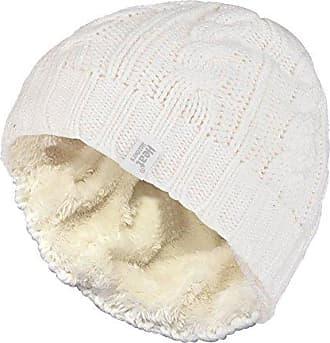 d9c271a6 Heat Holders Damen bunt Muster strickmütze warm wintermütze/mütze in 7  Farben (Weiß)