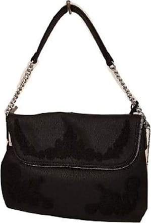 Ermanno Scervino HOBO SUNNY 12400014, Bag with Chain Strap in Faux Leather, Macrame Machined, Size One