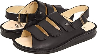 0aa737ab26ad Finn Comfort Sylt - 82509 (Black Nappa Soft Footbed) Womens Shoes