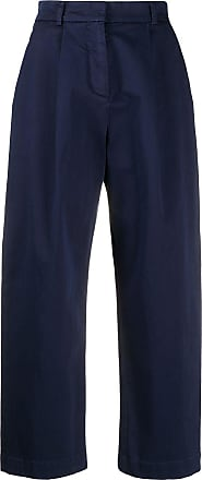 Ymc You Must Create pleated crop trousers - Blue