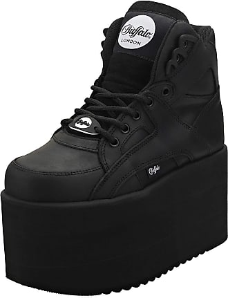 Buffalo Platform Trainers Black - 5.5 UK