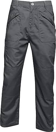 Regatta Mens Original Action Waterproof Trousers - Regular (36in) (Dark Grey)