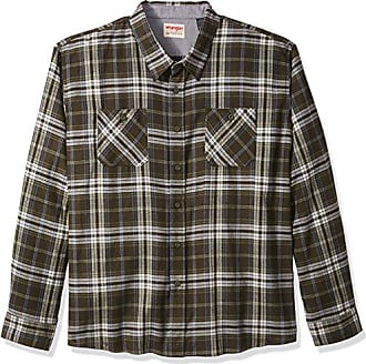 928f0b02e1 Wrangler Authentics Mens Big-Tall Long Sleeve Flannel Shirt