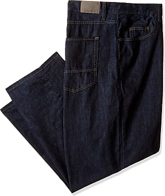 Nautica Mens Big-Tall Relaxed Fit Jean, Marine Rinse, 44Wx34