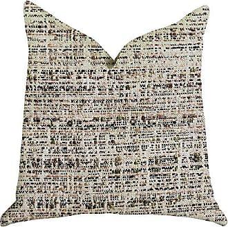 Plutus Brands Secret Sandbox Double Sided King Luxury Throw Pillow 20 x 36 Brown/Beige