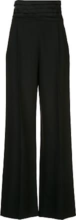 Khaite Calça cintura alta Blaine - Preto
