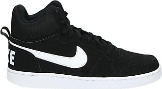 14177489ad0 Nike Court Borough Mid hoge sneakers zwart