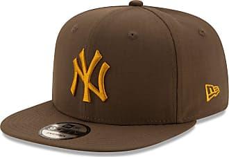 New Era New York Yankess Brown Old Gold MLB Utility 9fifty Snapback Cap 950 M L Basecap