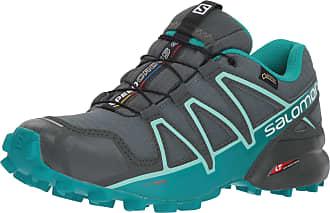 Salomon Salomon Womens Trail Running Shoes, SPEEDCROSS 4 GTX W, Colour: Green (Balsam Green/Tropical Green/Beach Glass), Size: UK size 5.5