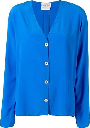 Forte_Forte button-up shirt - Azul
