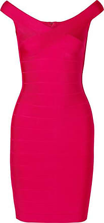 Hérve Léger Bandage Mini Dress - Bright pink
