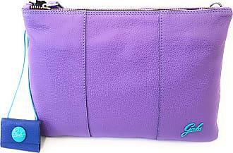 Gabs GABS woman clutch bag with shoulder strap BEYONCE TG M RUGA G000040T2 P0086 C3510 LAVANDA M