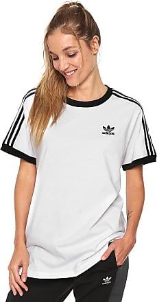 b0628a9fa adidas Originals Camiseta adidas Originals 3 Stripes Branca