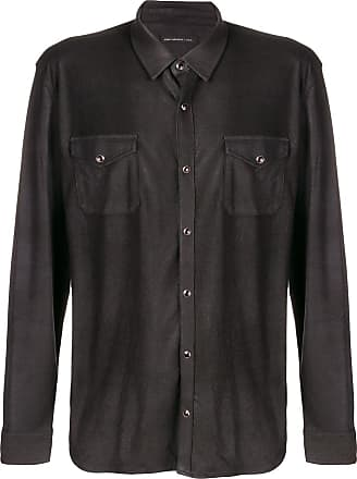 John Varvatos chest pocket shirt - Black