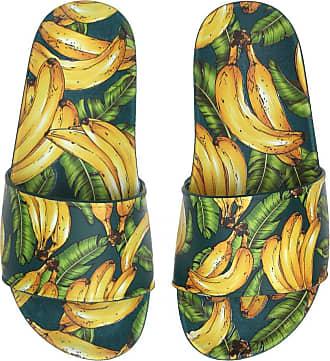 Santa Lolla Chinelo Santa Lolla Menina Bananas Verde/Amarelo