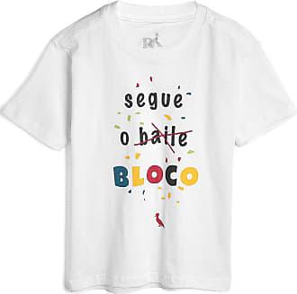 Reserva Mini Camiseta Reserva Mini Infantil Lettering Branca