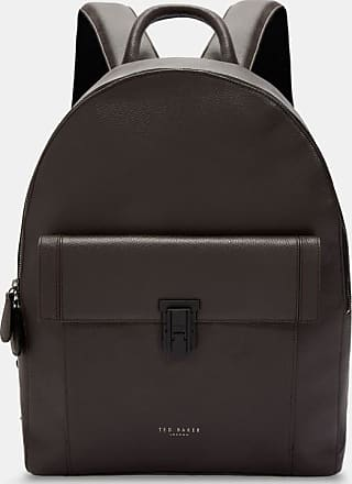 Ted Baker Leather Backpack in Chocolate EASTMO, Mens Accessories