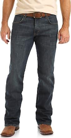 Wrangler Mens Retro Relaxed Fit Boot Cut Jean, Falls City, 36W x 30L