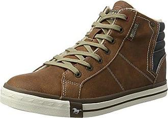 02985ce90e7b71 Mustang Herren 4096-601-301 Hohe Sneaker Braun (Kastanie) 40 EU