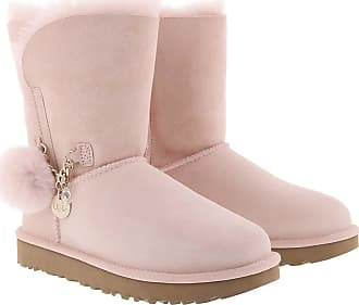 UGG Boots & Booties - Classic Boot Short Charm Quartz - rose - Boots & Booties for ladies