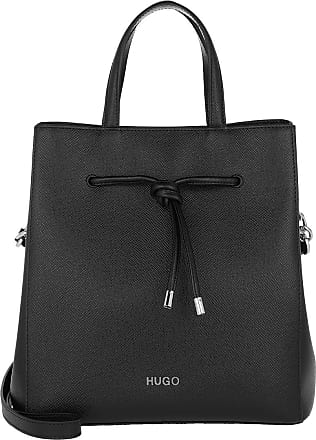 HUGO BOSS Bucket Bags - Victoria Drawstring Black - black - Bucket Bags for ladies