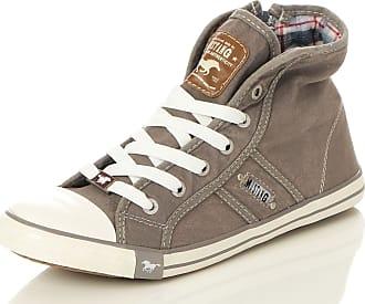 Details zu Mustang Damen Schuhe Sneaker Frauen Halbschuhe Stoff Turnschuh Slip on 1099 401