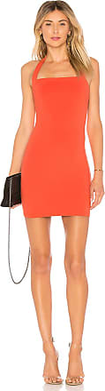 Superdown Halley Bodycon Dress in Orange