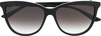 Cartier Óculos de sol redondo C Décor - Preto
