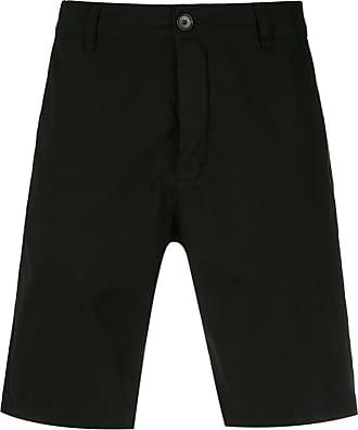 Osklen buttoned bermuda shorts - Black