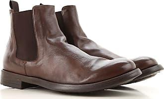 Officine Creative Chelsea Stiefel für Herren Günstig im Sale, Zigarrenfarbig, Leder, 2019, 40 41.5 42 43 44 45