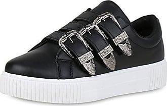 Sneaker, Glitzer, für Damen, schwarz, 38