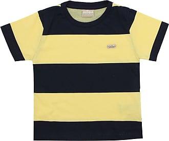 Milon Camiseta Milon Menino Listrada Amarela