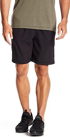 Zella Mesh Panel Stretch Woven Shorts